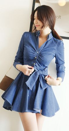 [Korean drama Kpop star fashion] Asian women fashion style Margaret Dress