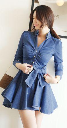 http://www.trendzystreet.com/clothing/dresses  - [Korean drama Kpop star fashion] Asian women fashion style Margaret Dress