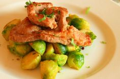 Pureći odresci - turkey steaks - turkey meat tends to dryness - fry it quickly (about 8 minutes) and serve hot (with boiled vegetables, or rice with green peas,beetroot or white cabbage salad, mashed potatoes or just with pickled gherkins and bread