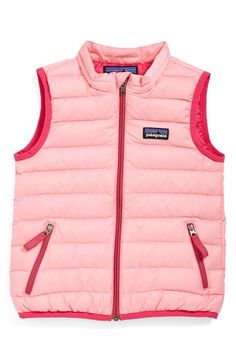 Patagonia Windproof & Water Resistant Down Sweater Vest (Baby Girls) available at #Nordstrom