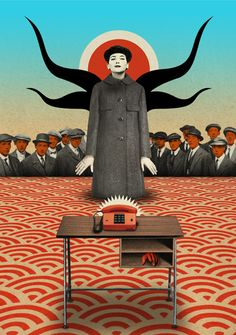 Anonymous Calls from the Future - Julien Pacaud • Illustration • Perpendicular Dreams