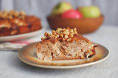 Ciasto jabłkowe z mąki gryczanej (bezglutenowe) Banana Bread, Cooking Recipes, Healthy, Sweet, Food, Candy, Chef Recipes, Essen, Eten