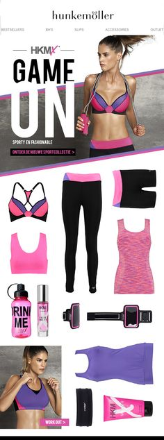 Seriously in love with Hunkemoller HKMX sports collection #workout #sport #lingerie