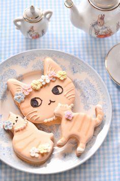 茶トラ会のお菓子その2|かわいいと猫がいっぱい♪ Lauraのスイーツ&ハンドメイド