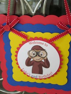 Curious George  Birthday Party Ideas | Photo 9 of 19