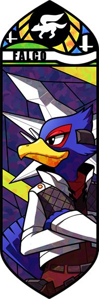 Smash Bros - Falco by Quas-quas on deviantART