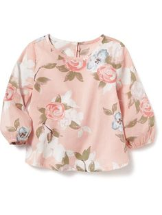 Floral Long-Sleeve Top Product Image