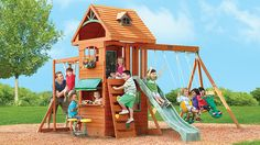 Big Backyard Play Set
