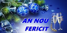 Anul Nou An nou fericit! Happy New Year Photo, Happy New Year 2020, An Nou Fericit, New Year Photos, Christmas Bulbs, Rustic, Holiday Decor, Inspiration, Quotes Motivation
