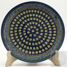 "10"" Dinner Plate - Floral Formation"