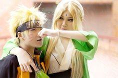 Naruto & Tsunade cosplay
