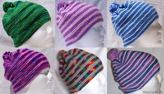Free knitting pattern: Beanie Plus Knitting Patterns Free, Free Knitting, Darning, Yarn Needle, Charity, Knitted Hats, Beanie, Group, Collection