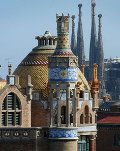 Sant Pau Recinte Modernista, Barcelona (arch. Domènech i Montaner)