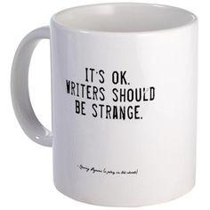 Writers Quote Mug