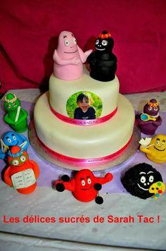 Cake gâteau barbapapa
