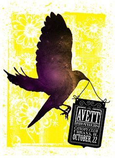 #AvettBrothers #concert #poster