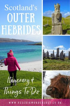 A guide to island hopping the Outer Hebrides in Scotland. With everything you need to help you plan including itinerary, map & things to do! Visit Glasgow, Visit Edinburgh, Isle Of Harris, Ben Nevis, The Loch, Outer Hebrides, St Kilda, The Dunes, Inverness