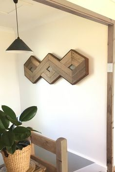 SOLD Trinity Knot with Copper Patina Inlay Wood wall art Wooden Wall Decor, Wooden Wall Art, Diy Wall Art, Wall Wood, Copper Wall Art, Wood Artwork, Reclaimed Wood Wall Art, Rustic Art, Rustic Decor