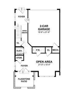 Ground floor plan | Overlea Townhomes Flagstone Patio, Ground Floor Plan, Fee Simple, Townhouse, Floor Plans, Flooring, How To Plan, Terraced House, Wood Flooring