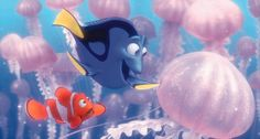 Does your Finding Nemo fandom run so deep that it would see anglerfish in the dark depths of the ocean? Test your level of Finding Nemo fandom with our quiz. Disney Pixar, Film Disney, Disney Movie Quotes, Disney Characters, Nemo Dori, Drunk Friends, Aladin, Finding Nemo 2003, Canvas Home