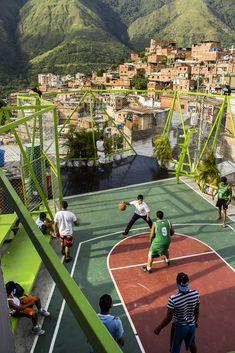 How Venezuela's Espacios de Paz Project is Transforming Community Spaces.