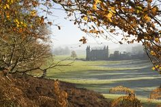 Autumnal view at Newton House at Dinefwr, Llandeilo, Carmarthenshire, Wales, seen from Brown's Walk. Image:  ©National Trust Images, photo John Hammond