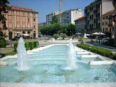 La fontana in Piazza Italia ad Acqui Terme