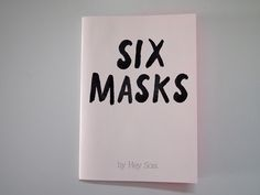 Seis Máscaras // Six Masks - Paiorfa Editorial  Fanzines para niños