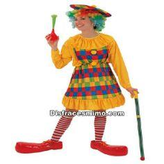Tu mejor disfraz payasa cuadros adulto para mujer.Este alegre Disfraz de Payaso cuadros,todo ello confeccionado en colores llamativos.Con este disfraz no pasarás desapercibido en Fiestas Temáticas, de Disfraces o en Carnavales.