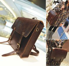 Men and Women Leather BACKPACK Fashion LEATHER von BoutiqueHouse