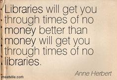 we need libraries