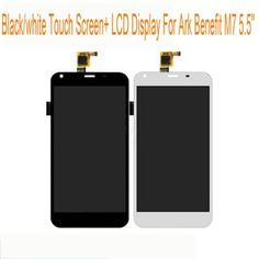 "Black White Touch Screen+LCD Display For ARK Benefit M7 5.5"" Digitizer Senor Touch Panel Mobile Phone Assembly Replacements  — 2521.75 руб. —"