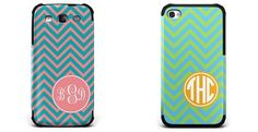 Personalized Chevron Bumper Phone Cases