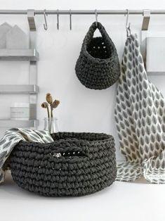 DIY | praktische Häkelkörbe für die Küche | mxliving