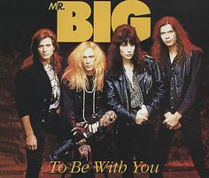 "For Sale - Mr Big (US) To Be With You UK  CD single (CD5 / 5"") - See this and 250,000 other rare & vintage vinyl records, singles, LPs & CDs at http://eil.com"