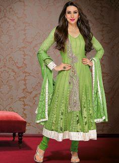 Karishma Kapoor in Designers #Anarkali Suits