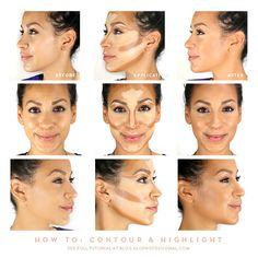 How to Contour and Highlight with Luxe
