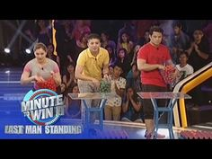 Ponginator | Minute To Win It - Last Man Standing - YouTube