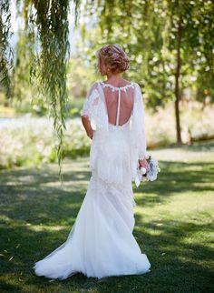 24 unique racerback wedding dresses that make our hearts race! - Wedding Party