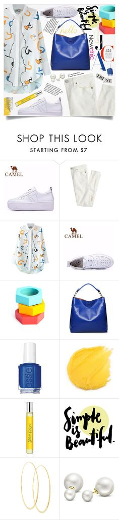 """""""Newchic 10."""" by lillili25 ❤ liked on Polyvore featuring J.Crew, Essie, Atelier Cologne, Lana and Allurez"""