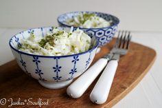 Salad Recipes, Potato Salad, Mashed Potatoes, Salads, Good Food, Paleo, Food And Drink, Low Carb, Rice