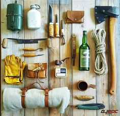 EDC Packing: Old School Wilderness Survival Kit /// Dj EDC