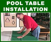 Learn everything you need to know about installing your own pool table here!