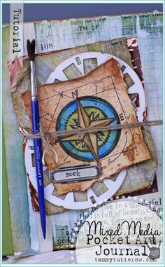 Tammy Tutterow | Pocket Art Journal Tutorial