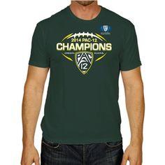 abcbec7c8 Oregon Ducks Official Locker Room 2014 Pac 12 Football Champions T-Shirt  (L)