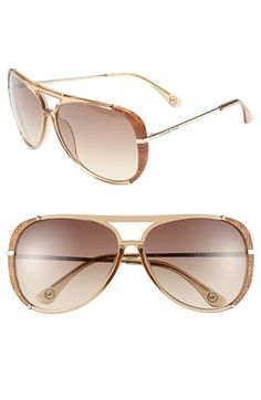 MICHAEL Michael Kors 'Julie' 60mm Aviator Sunglasses available at #Nordstrom #gettingthese