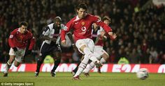 2005/06 was the first season that Ronaldo got into double figures.