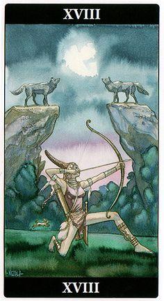 The Moon - Tarot of the Dream Enchantress
