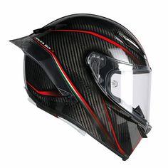 New motorcycle helmet AGV Pista GP R - Motorcycle Custom Motorcycle Helmet Design, Full Face Motorcycle Helmets, Motorcycle Outfit, Full Face Helmets, Motorcycle Accessories, Agv Helmets, Racing Helmets, Racing Team, Ducati