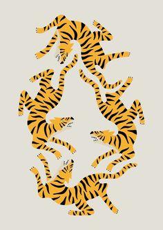 Cute tiger print!